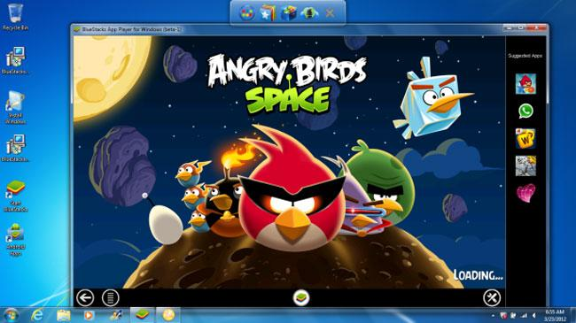 Окно программы BlueStacks